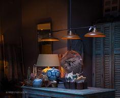 Parvani | Tierlantijn-hanglamp-Vechia-3-patina-koper