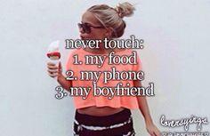 Oh wait I don't have a boyfriend...