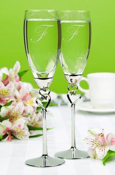 These heart flutes are so pretty.