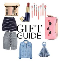 """""""Untitled #1"""" by waamfamily-1 on Polyvore featuring Estée Lauder, Bdellium Tools, Anya Hindmarch, Zizzi and WithChic"""