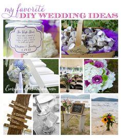 My Favorite DIY Wedding Ideas