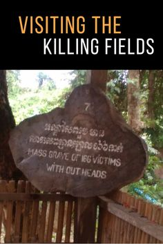 My heart warming experience visiting Khmer Rouge Killing fields in Cambodia.
