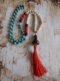 Statement Tassel Necklace by NOMADSTRADE on Etsy