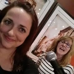 From the Jokers and Gypsies tour: Erisa Rei and Dyanne Harvey goofing around before their gig at the Opening Bell Coffee Shop in Dallas. #ErisaRei #DyanneHarvey #Texas #JokersandGypsiesTour