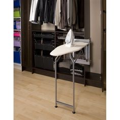 MoreStorage.com : PULLOUT DROP DOWN IRONING BOARD [S07760GS],[S07760GS-BN] - $269.99