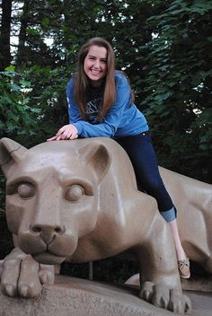 Film-video major Allison Ornik, who made dean's list every semester and interned at Hollywood production companies, is the College of Communications student marshal at Fall 2013 commencement. #PSUgrad