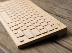 Wooden Keyboard