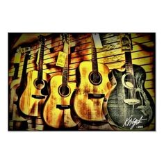 Wood Grain Acoustic Guitars guitars guitars