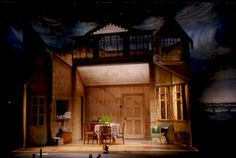 The Birthday Party. Piccadilly Theatre, London. Scenic design by Tom Rand.