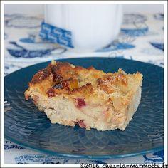 Pudding aux fruits confits | Marmotte cuisine !