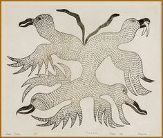 by Kenojuak Ashevak  1966