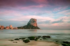 Calpe-Spain, for Ryan's birthday. I'm such a good girlfriend!