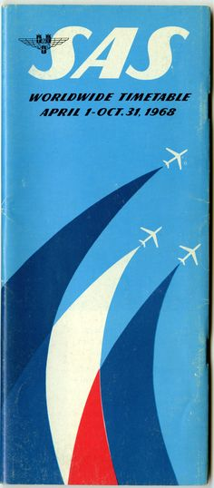 timetable: SAS (Scandinavian Airlines System) | http://www.flysfo.com/museum/