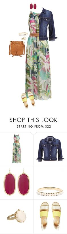 """""""Wednesday Church!"""" by sportinggirl00 ❤ liked on Polyvore featuring maurices, Kendra Scott, Kate Spade and Lucky Brand"""