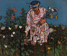 robert gwathmey : flowers for the pulpit : 1959