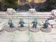 Mini Update: Commission painting of Alien Away Team Science Fiction, Sci Fi, Gaming, Miniatures, Fantasy, Painting, Image, Videogames, Imagination