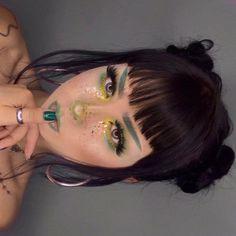 Latest natural eye makeup - Makeup Looks Celebrity Unique Makeup, Beautiful Eye Makeup, Natural Eye Makeup, Cute Makeup, Pretty Makeup, Makeup Art, Hair Makeup, Make Up Looks, Alternative Makeup