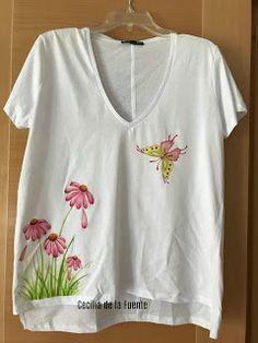 El Mundo de Cecilia: Camiseta de colección pintada