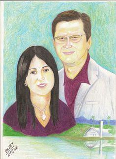 Marcos Aurelio e Joyce by Olney