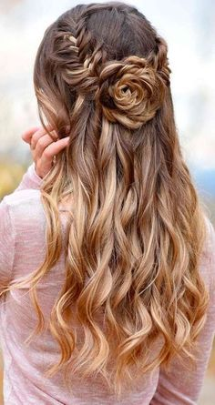 http://glaminati.com/stunning-prom-hairstyles-for-long-hair/5/ #weddinghairstyles