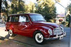 Autos Argentinos: AutoUnion1000 by Industria Automotriz Santa Fe - DKW Auto Union 1000 - Rural