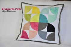 #patchwork #drunkardspath #orangepeel #quilt #tutorial #youtube #lizadecor #opilcovacesta