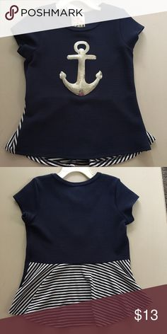 Jenna and Jessie anchor top NWOT Jenna and Jessie anchor top size 6. Sfpf home jenna and jessie Shirts & Tops Blouses