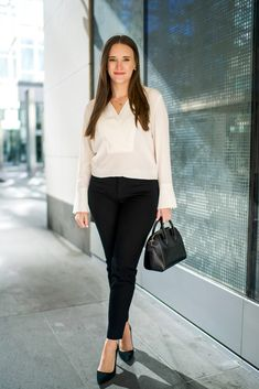 The Best White Blouse for Work | Popular New York City Fashion and Travel Blog | Covering the Bases
