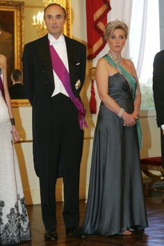 Prince Lorenz of Belgium and Princess Astrid attend the gala dinner... Nachrichtenfoto 162129241 | Getty Images