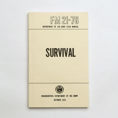 Best Made Company — US Army Field Manuals (set of three) — Designspiration