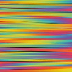 smeared rainbow