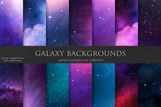 GalaxySpace and Stars Backgroundstextures | textures patterns | textures drawing | textures for edits | textures photography #texture #textures #drawing #illustration #vector #font #background