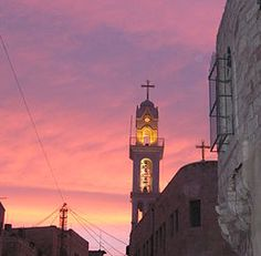 Bethlehem, Israel. A city with much religious, historical and cultural interest to travellers from all walks (and faiths).