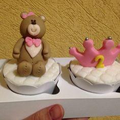 Cupcakes para 'mesversario' de bebê