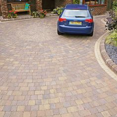 Marshalls Paving- Manmade Paving- 'Tegula Drivesett'- Traditional- BLOCK PAVING…