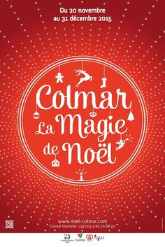 Colmar La magie de Noël 2015 #graphicdesign #France #design #typography