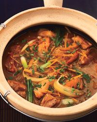 Clay Pot Ginger Chicken Recipe on Food & Wine