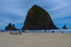 Photographing cannon beach while traveling in Oregon Travel Workout, Cannon Beach, Photography For Sale, Travel Memories, Backpacking, Travel Photos, Vancouver, Wander, Oregon