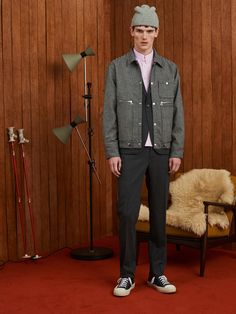 Band of Outsiders Fall 2018 Menswear Collection Photos - Vogue