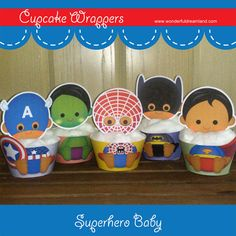 Printable Digital PDF File  Cupcake Wrappers by clipartsuperstore