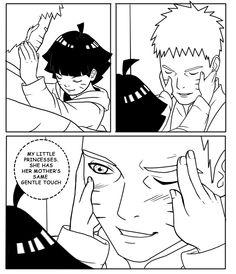 Naruto and Himawari Are you my dad? 3