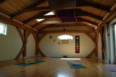 Yoga studio in Michigan bed & breakfast...