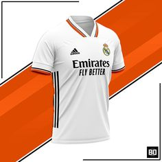 Real Madrid CF Concept Home Jersey 2021/2022