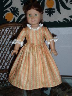 Colonial Dress for American Girl Felicity by alohagirldollclothes, $20.50