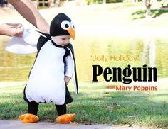 déguisement de pingouin très réussi, c'est trop mignon!!! #pingouin #penguin