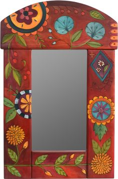 Small Mirror,Small Mirror How To Make Wood Art ? Wood art is typically the task of shaping about and inside, provided the outer lining of something is flat. Mirror Painting, Tole Painting, Painting Frames, Painting On Wood, Mirror Frame Paint, Painted Mirrors, Mirror Mosaic, Mirror Mirror, Mirror Ideas