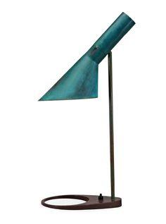 Arne Jacobsen, table lamp, n.d. Fritz Hansen, Denmark. Via bukowskis