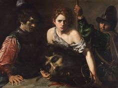 Valentin de Boulogne, David with the Head of Goliath and Two Soldiers, 1620-22