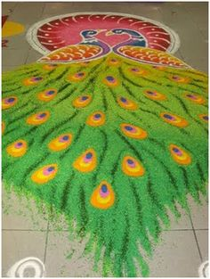 25 Unique Rangoli Designs With Themes For Competitions