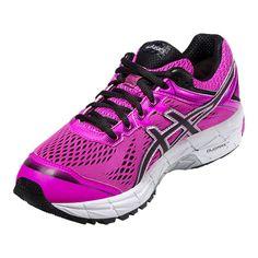 the latest c313a ce91b ASICS Women s GT-1000 4 GTX Running Shoes - Pink Black